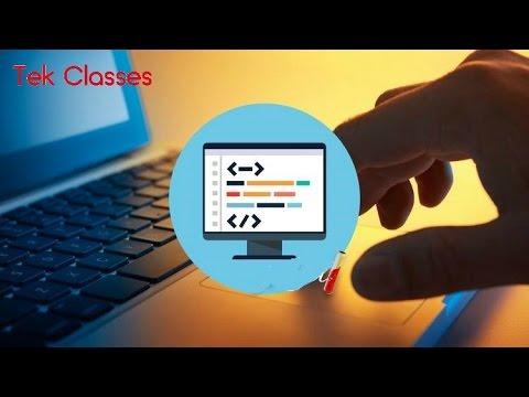 Web Development Training Videos | Web Designing Tutorials | Tek Classes