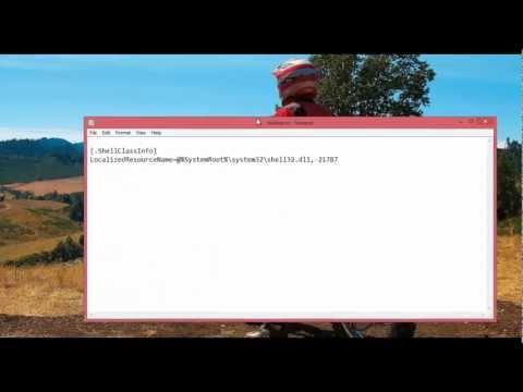 Fix Desktop.ini Opening in Notepad on Startup: Windows 8