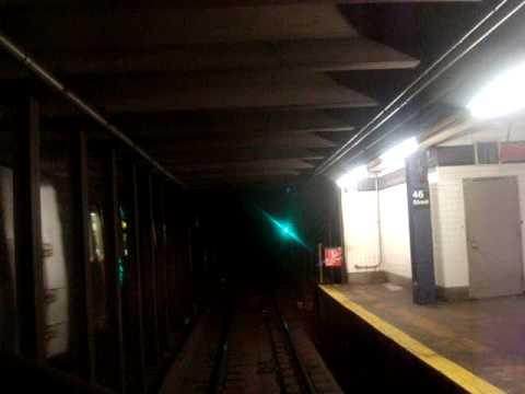 4. MTA New York City Subway R-32 V train Queens Plaza to Jackson Hts-Roosevelt Ave