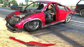GTA 5 Car Crashes Compilation (Gaming Media)
