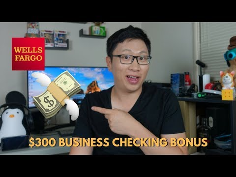 $300 Wells Fargo Business Checking Signup Bonus [Expired]