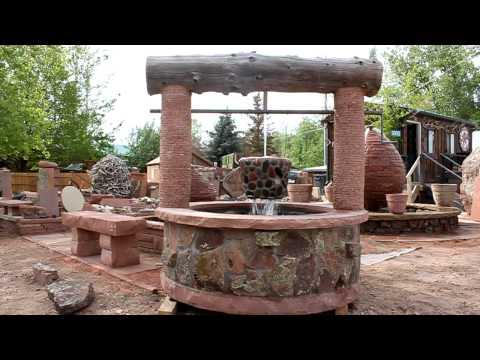 Blue Mountain Stone Custom Made Wishing-Well water fountain!