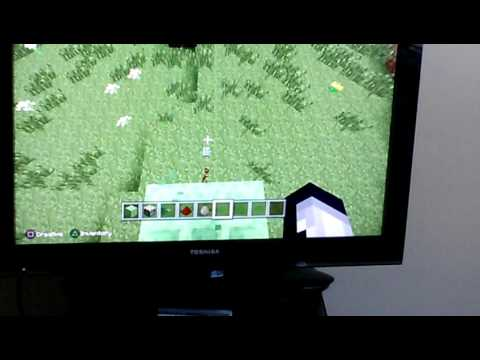 How to make a bouncy house in Minecraft
