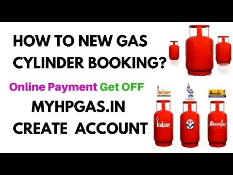 How to New Gas Cylinder Booking? Myhpgas.in create account