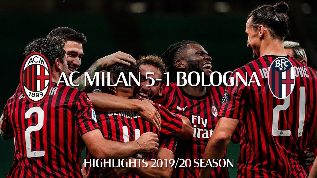 Highlights   AC Milan 5-1 Bologna   Matchday 34 Serie A TIM 2019/20