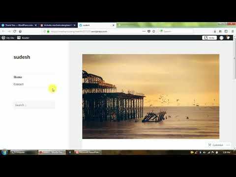 How to use wordpress to create website in marathi