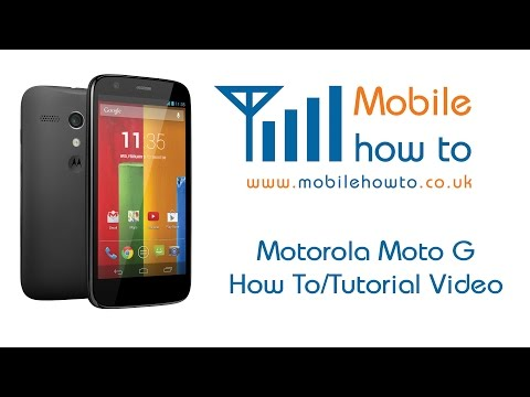 How To Change The Font Size - Motorola Moto G