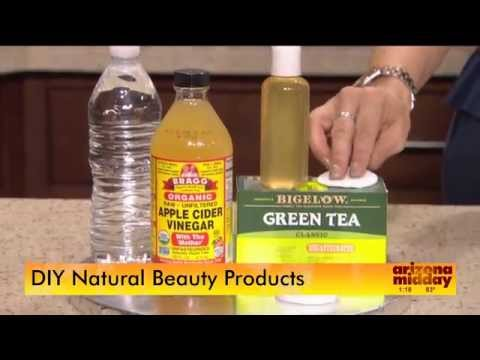 A model shares her best DIY Natural Beauty Recipes - Cleanser, Toner, Anti Aging Elixer KPNX