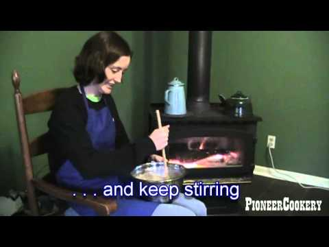 Making Lye Soap from Wood Ash and Lard
