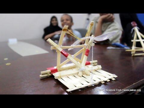 Popsicle Stick Catapults STEM Activity