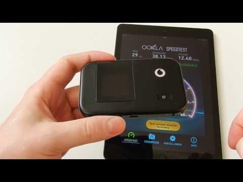 Test Vodafone R215 MiFi Hotspot & Speedtest