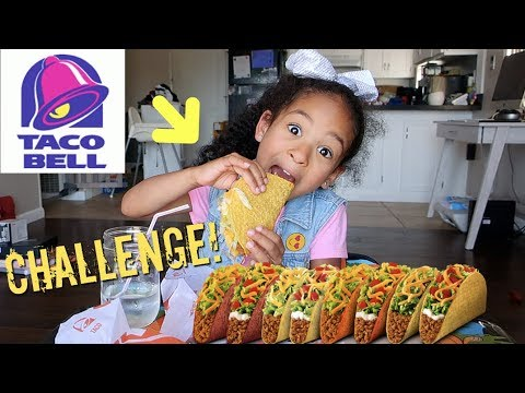 TACO BELL CHALLENGE!!!! MUKBANG Extreme Crunch Sounds