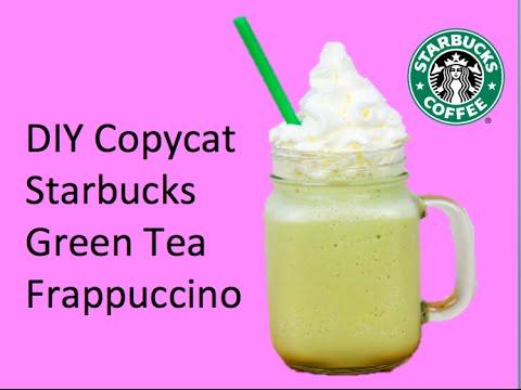DIY Copycat Starbucks Green Tea Frappuccino