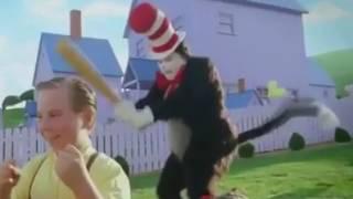Cat In The Hat Meme (Baseball Bat)