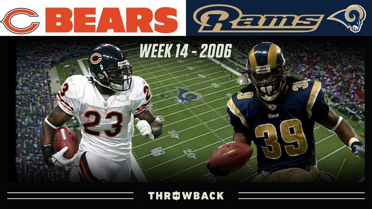 The Night Devin Hester Became a Star! (Bears vs. Rams 2006, Week 14)