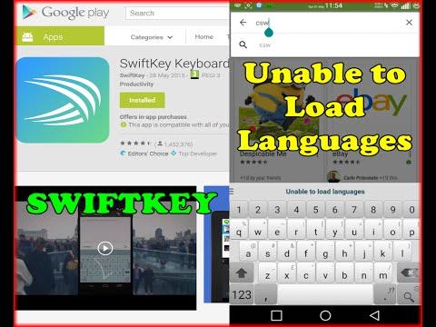 SwiftKey Keyboard - Android error -