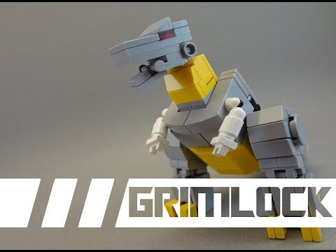 Lego Transformers  -『G1 GRIMLOCK』