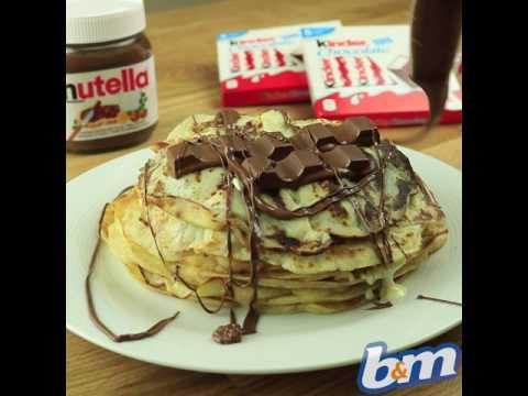 How to Make Incredible Kinder Pancakes | B&M Stores