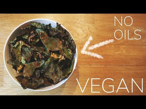 Crispy Savoy Cabbage Chips (great alternative to kale chips)