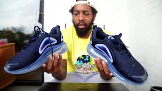 """d36ca1058a Nike Air Max 720 """"Obsidian"""" (Dope or Nope) + On Foot"""
