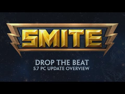 SMITE - 5.7 Update Overview - Drop the Beat