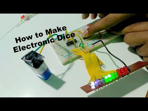 How to make Electronic Dice