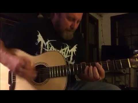 Toto Hold The Line Fingerstyle