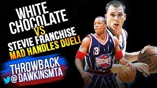 Jason Williams vs Steve Francis MAD HANDLES Duel 2002.12.13 - Francis With 29, JWill With 25-12 Ast!