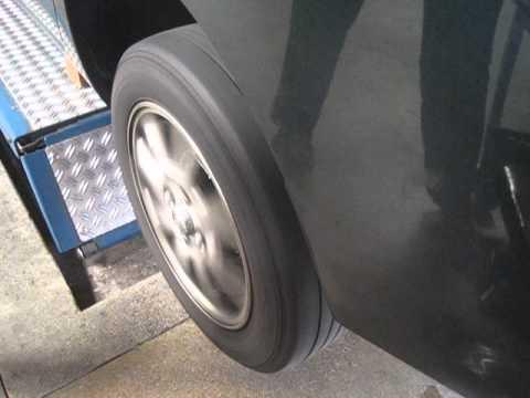 Gen 1 Prius Bad LR Wheel Bearing