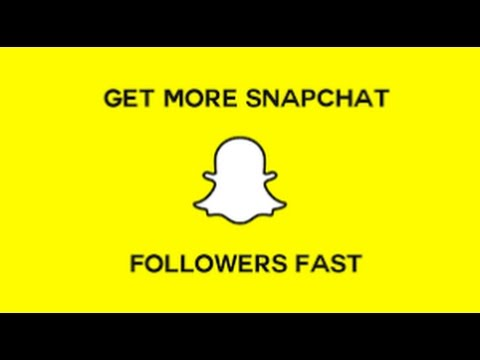 How To Get Snapchat Followers and Views - Get Free Snapchat Followers! (+ Bonus Method) [2017]