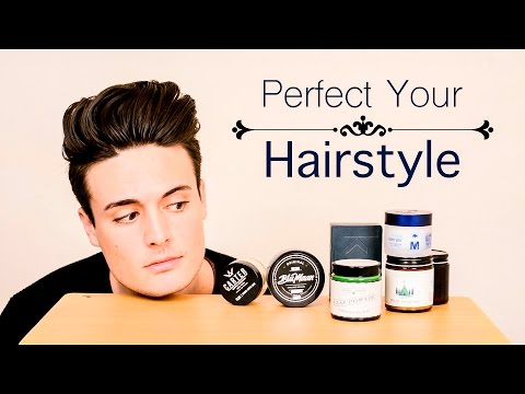 Mens Hairstyling | Choosing the BEST Product for Your Hairstyle