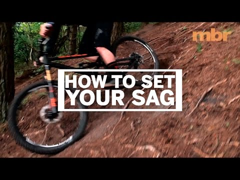 How to set the suspension sag on your mountain bike | MBR