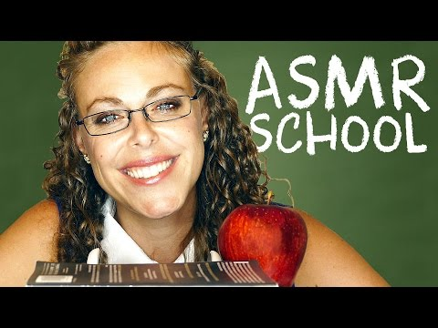 ASMR School – Teacher Role Play – How to Handle Stress & School or Office Supplies Sounds