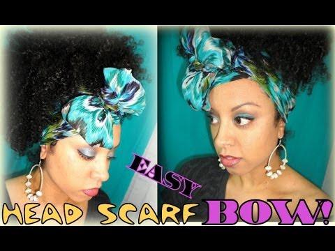 Head Wrap SCARF BOW!!