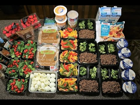 Cutting Meal Prep - 2500 Calories: Cooking And Packaging Each Meal