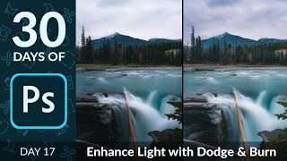 How to Dodge & Burn in Photoshop   Day 17