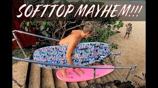 SOFTTOP MAYHEM!!! AND BOARD TRANSFERS  WITH DONAVON FRANKENREITER AND MAKUA ROTHMAN