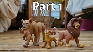 The lion king stop motion part 1