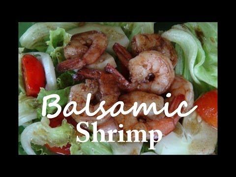 Balsamic Glazed Shrimp