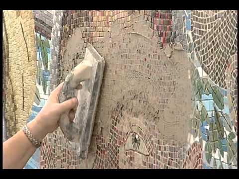 Douglas Mosaic Wall Install