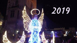 Kraków Jarmark Bożonarodzeniowy, święta w Krakowie, świateczna ozdoba ulic i mostów 2019