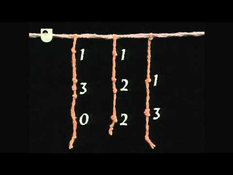 Incas and Their Knots - Mathematical Models: From Sundials to Number Engines (4/7)