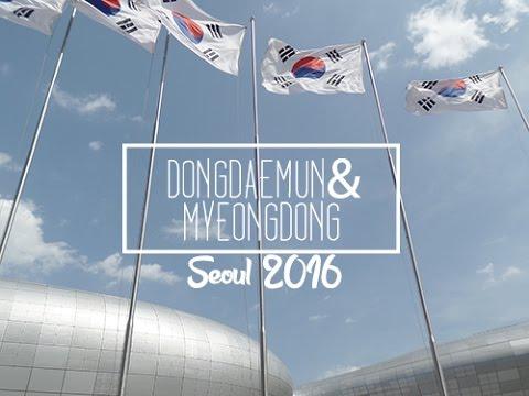 Kathy in Korea | VLOG #2 - Exploring Dongdaemun & Myeongdong!
