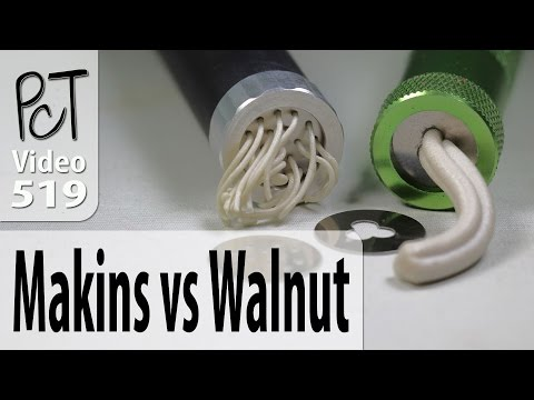 Polymer Clay Extruders: Makins vs. Walnut Hollow Review