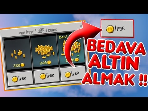 💎BEDAVA MİNECRAFT:PE ALTINI ALMAK❗- Minecraft Pocket Edition Free Coins