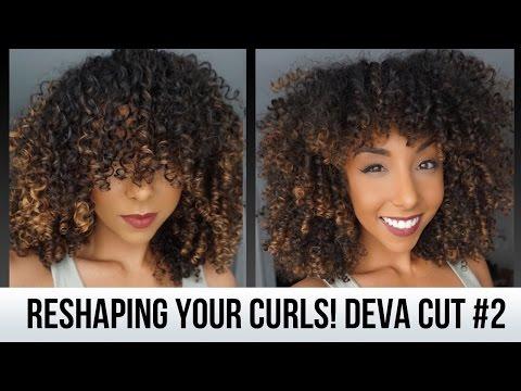 Reshaping Your Curls! DevaCut #2 | BiancaReneeToday