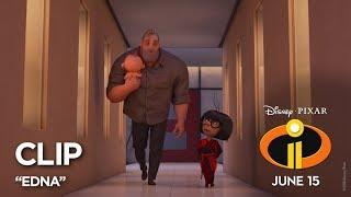 """Incredibles 2 Clip - """"Edna"""""""