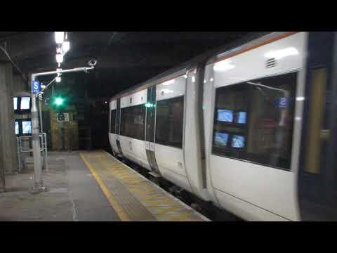 C2C Class 357 Departures Barking for Southend Central via Ockendon