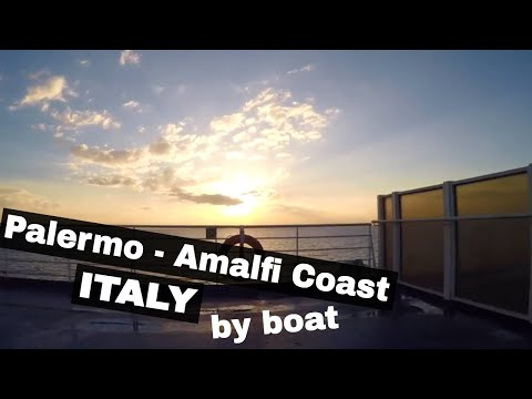 GRIMALDI FERRY from Palermo, Sicily, to the Amalfi Coast! - Budget Travel Italy  //  159