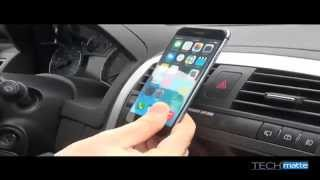 TechMatte MagGrip Vent Mount for Cell Phones